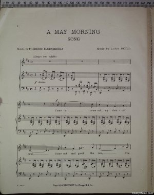 First page of A May morning by Chappell