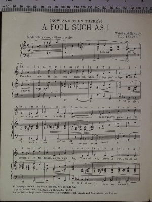First page of A fool such as I by Leeds