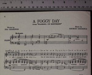 First page of A foggy day by Chappell