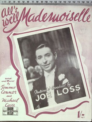 All's well Mademoiselle - Old Sheet Music by Peter Maurice
