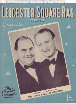 Leicester Square rag - Old Sheet Music by The J Norris Music Publishing Co Ltd