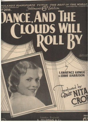 Dance and the clouds will roll by - Old Sheet Music by Feldman