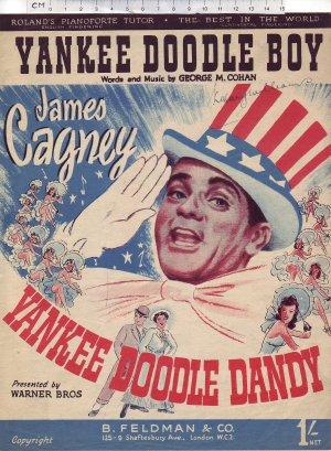 Yankee Doodle Boy - Old Sheet Music by Feldman