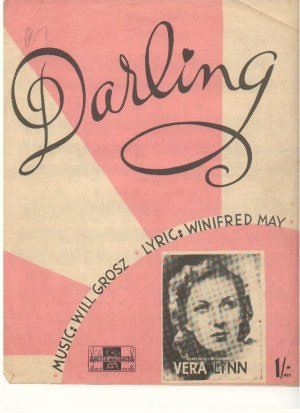 Darling - Old Sheet Music by Peter Maurice
