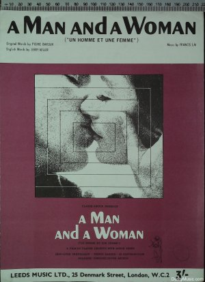 A man and a woman - Old Sheet Music by Leeds Music Ltd