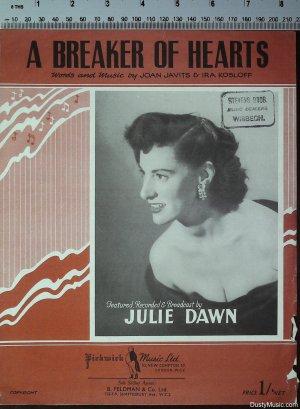 A breaker of hearts - Old Sheet Music by Feldman