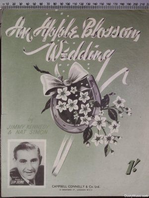 An apple blossom wedding - Old Sheet Music by Campbell Connolly & Co Ltd