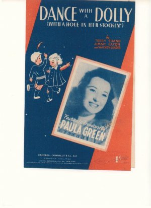 Dance with a dolly - Old Sheet Music by Campbell Connelly