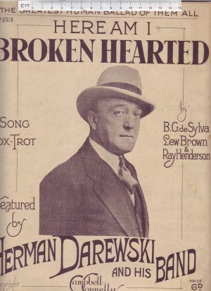 Broken hearted - Old Sheet Music by Campbell Connelly