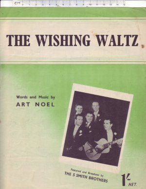 The whistling waltz - Old Sheet Music by The Cinephonic Music Co Ltd