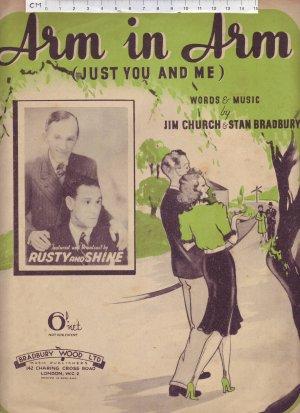 Arm in arm - Old Sheet Music by Bradbury Wood Ltd