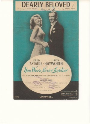 Dearly beloved - Old Sheet Music by Chappell