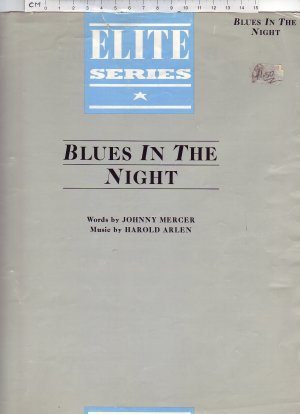 Blues in the night - Old Sheet Music by Chappell