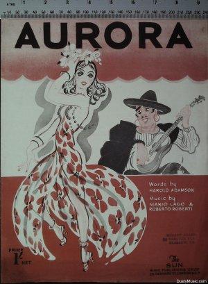 Aurora - Old Sheet Music by Sun