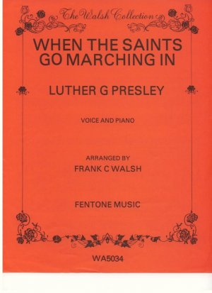 When the saints go marching in - Old Sheet Music by Fentone