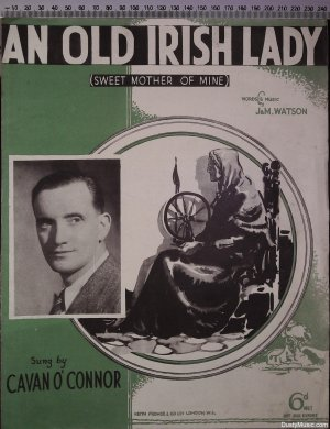An old Irish lady - Old Sheet Music by Keith Prowse