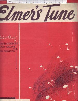 Elmer's tune - Old Sheet Music by Francis Day & Hunter