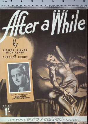 After a while - Old Sheet Music by Starlight Music
