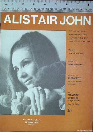 Alistair John - Old Sheet Music by Mozart Allan