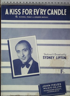 A kiss for every candle - Old Sheet Music by John Fields