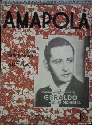 Amapola - Old Sheet Music by Campbell Connelly