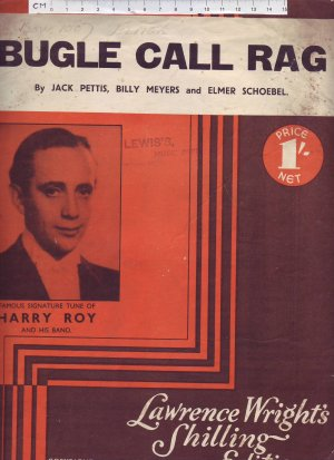 Bugle call rag - Old Sheet Music by Lawrence Wright