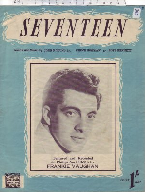 Seventeen - Old Sheet Music by World Wide Music