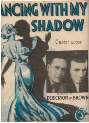 Dancing with my shadow - Old Sheet Music by Cinephonic
