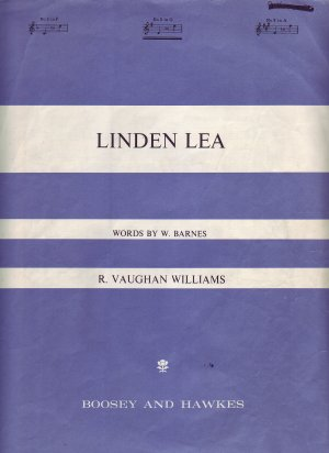 Linden Lea - Old Sheet Music by Boosey & Hawkes