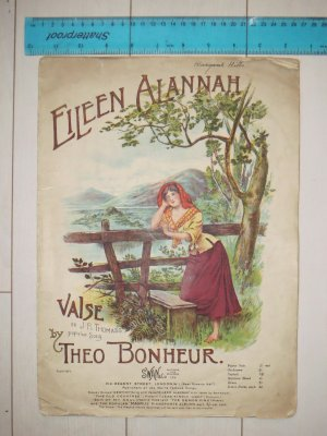 Eileen Alannah - Old Sheet Music by Swan & Co