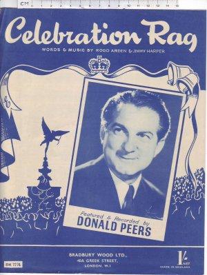 Celebration rag - Old Sheet Music by Bradbury Wood