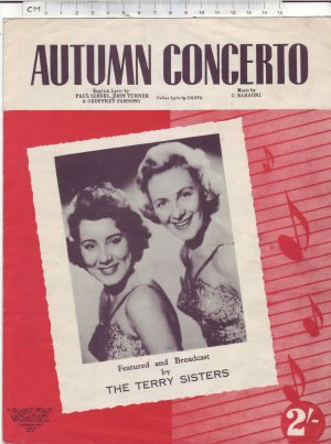 Autumn concerto - Old Sheet Music by Macmelodies