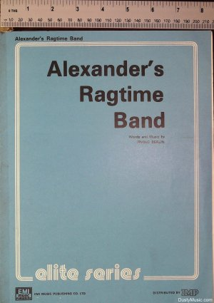 Alexander's ragtime band - Old Sheet Music by EMI