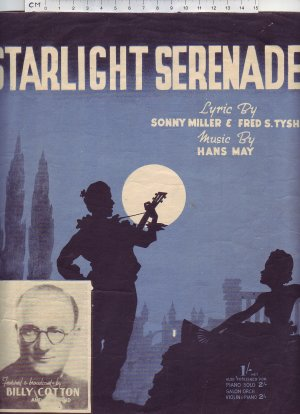 Starlight serenade - Old Sheet Music by Keith Prowse