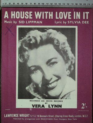 A house with love in it - Old Sheet Music by Lawrence Wright