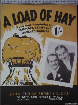 A load of hay - Old Sheet Music by John Fields
