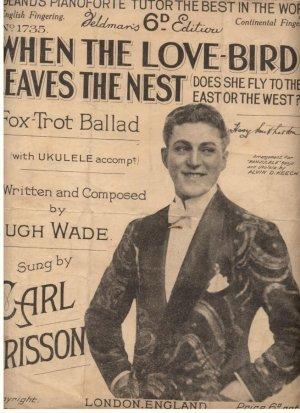 When the love-bird leaves the nest - Old Sheet Music by Feldman
