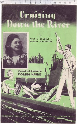 Cruising down the river - Old Sheet Music by Cinephonic