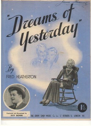 Dreams of yesterday - Old Sheet Music by Dash