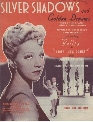 Silver shadows and golden dreams - Old Sheet Music by Prowse