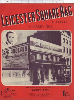 Leicester Square rag - Old Sheet Music by Norris