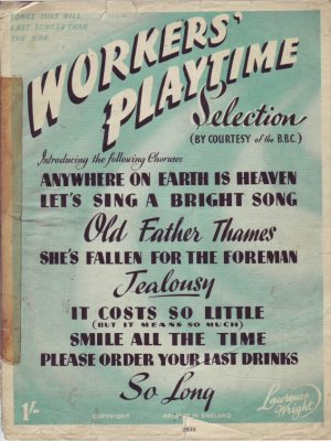 Workers' playtime - Old Sheet Music by Lawrence Wright