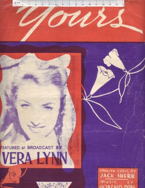 Yours - Old Sheet Music by Macmelodies