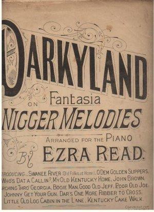 Darkyland - Old Sheet Music by London Music