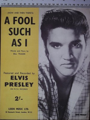 A fool such as I - Old Sheet Music by Leeds