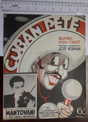 Cuban Pete - Old Sheet Music by Norris