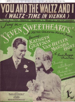 You and the waltz and I - Old Sheet Music by Francis Day & Hunter