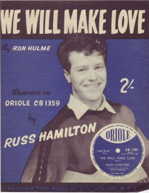 We will make love - Old Sheet Music by Melcher-Toff
