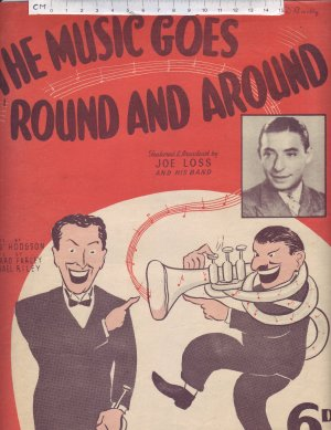 The music goes round and around - Old Sheet Music by Campbell Connelly