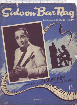 Saloon bar rag - Old Sheet Music by Chappell